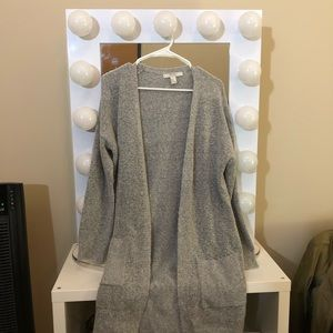 Forever 21 Gray Sweater Cardigan